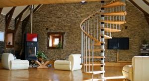 Escalier dans notre salon