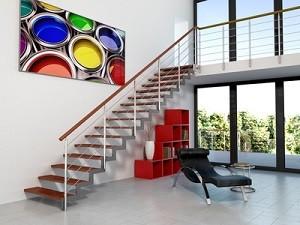 Escalier unique