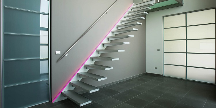 dimension escalier