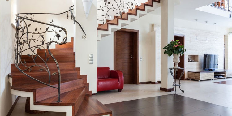 Barrière de sécurité escalier