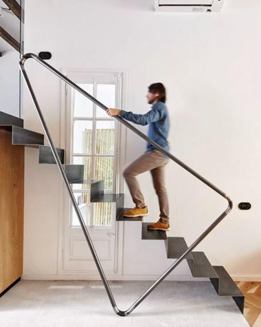 Rampes d'escalier design