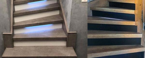 Éclairage d'escalier en LED